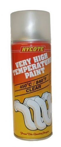 Very High Temperature Paint VHT Hycote Paint Clear